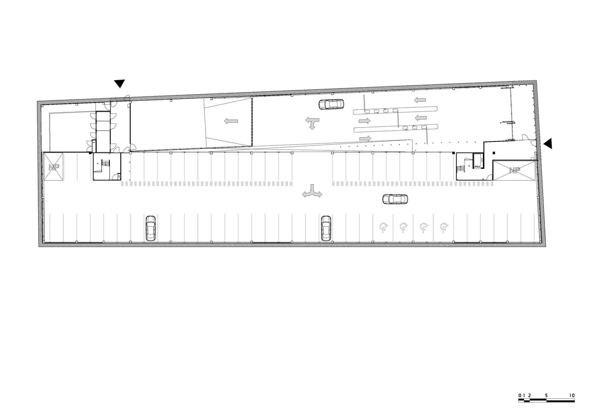 Galeria De Estacionamento Garagem Gnomo Mei Architecten 14