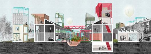 Family Homes. Image Courtesy of RIBA Building Futures