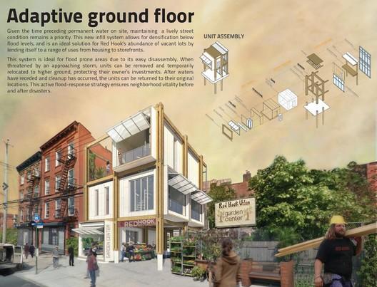 First Place: Adaptive Urban Habitats / Mixed Paper