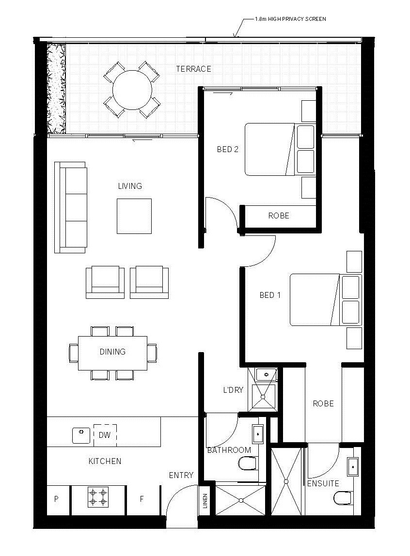 Gallery of nott street plus architecture 8 4 bedroom plus office house plans