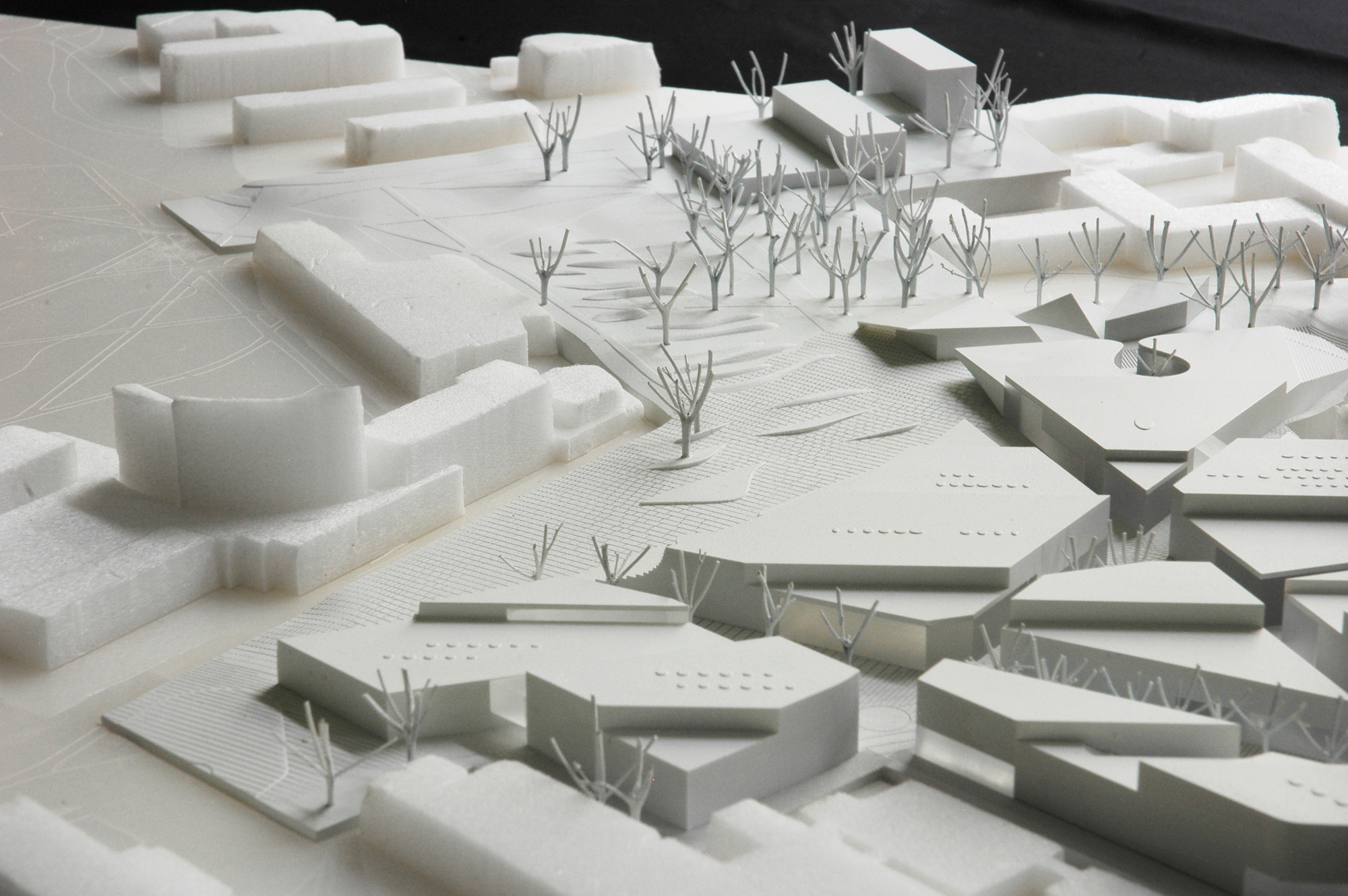 Model. Image © ALA Architects