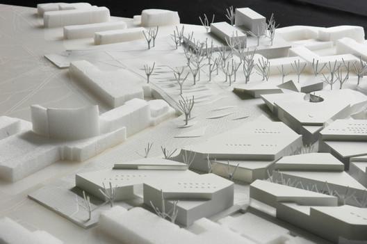Model. Image © ALA Architects