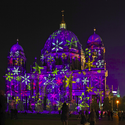 Berliner Cathedral, Festival of lights. Berlin, 2012. Photographer: Marius Schwarz. Image Courtesy of  Festival of lights / Frank Herrmann