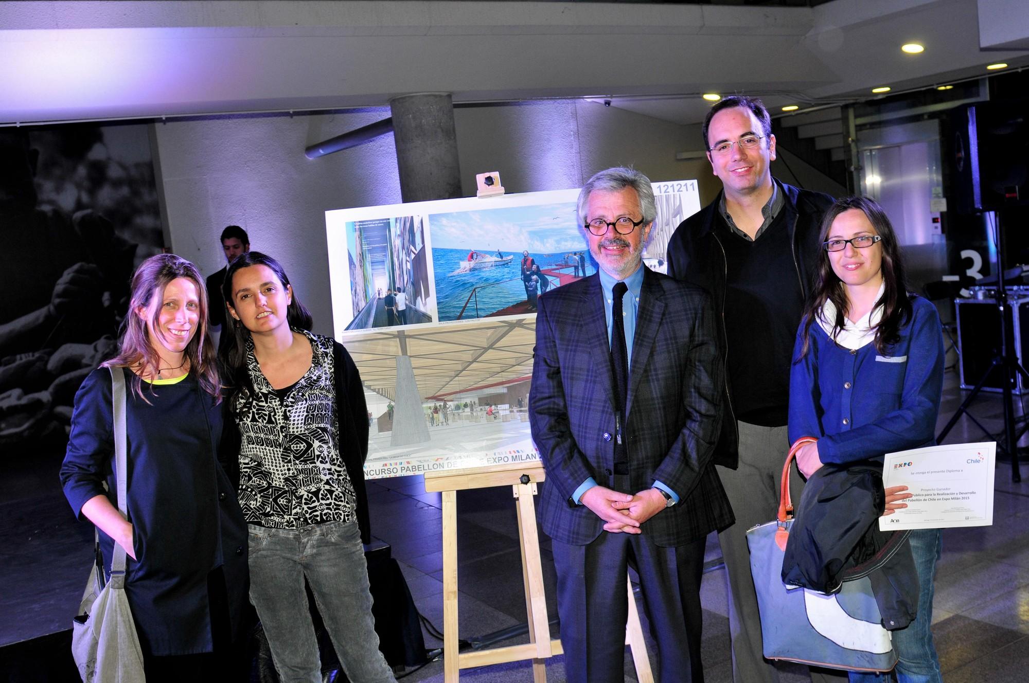 Cristián Undurraga se adjudica el diseño para el Pabellón de Chile en la Expo Milán 2015, Courtesy of Equipo Chile Expo Milán