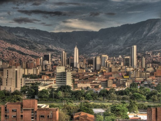 The 2013 World Habitat Awards will be held in Medellin, Colombia. Image © Flickr / David Peña