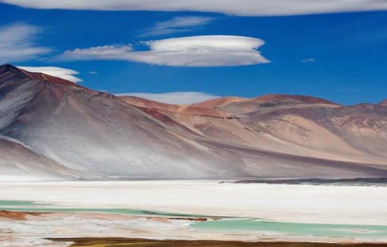 Paisaje del Desierto: Laguna Miscanti