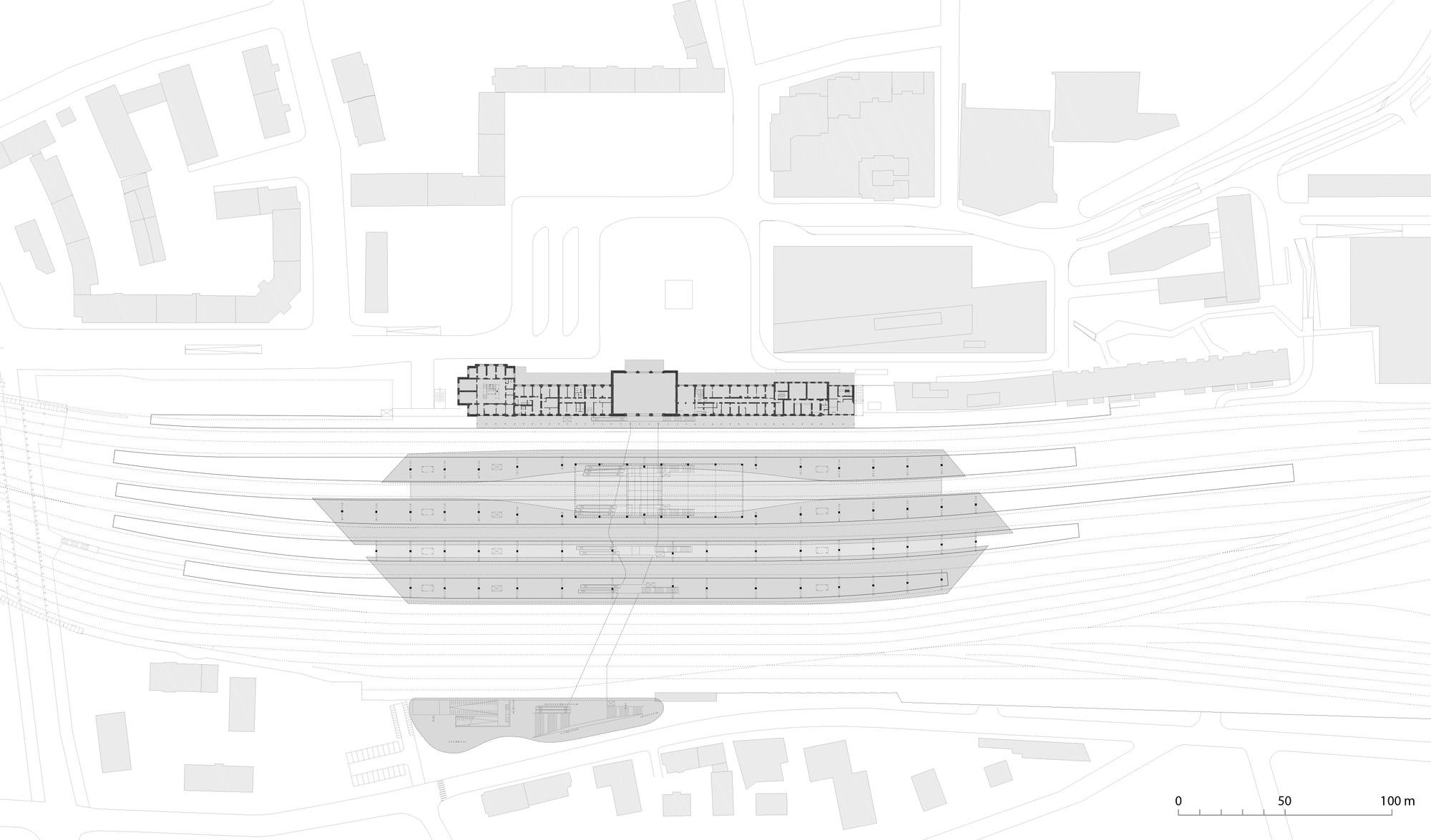 Central station salzburg kadawittfeld architektur - Architektur plan ...