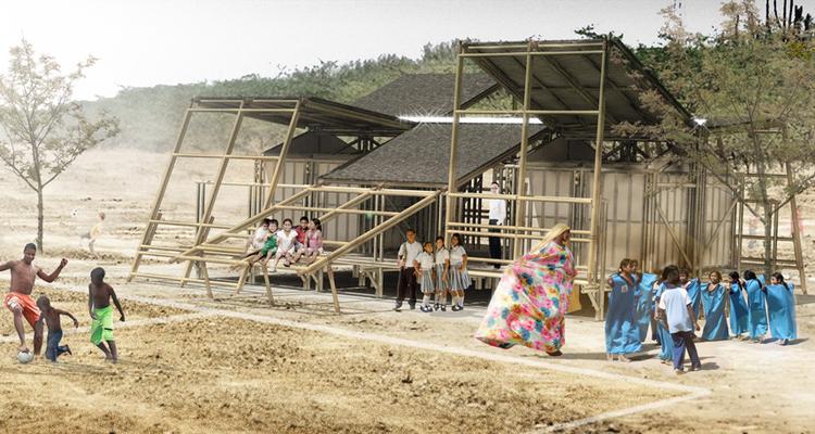 Escuela M3: una propuesta modular, flexible y sustentable para las zonas rurales de Colombia, Cortesía de M3H1 Arquitectura