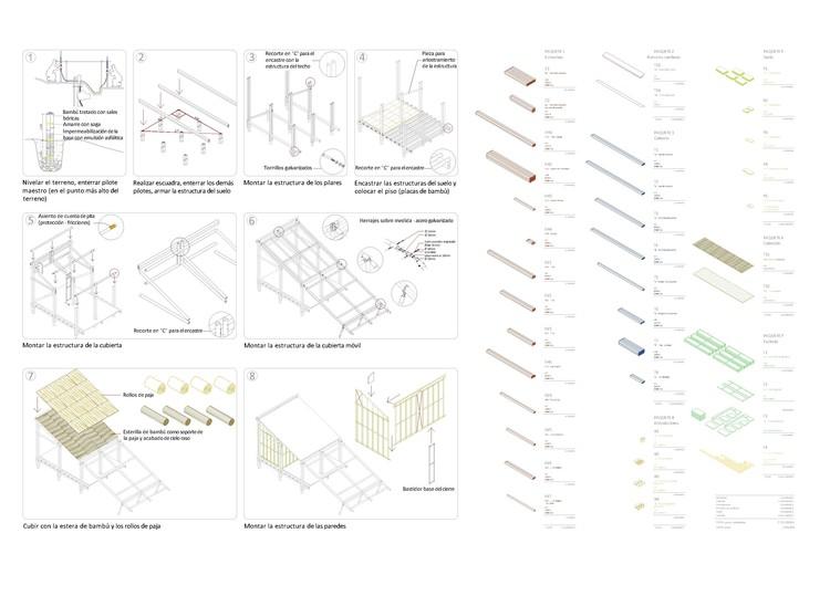 Manual construcción+Presupuesto. Image Cortesía de M3H1 Arquitectura