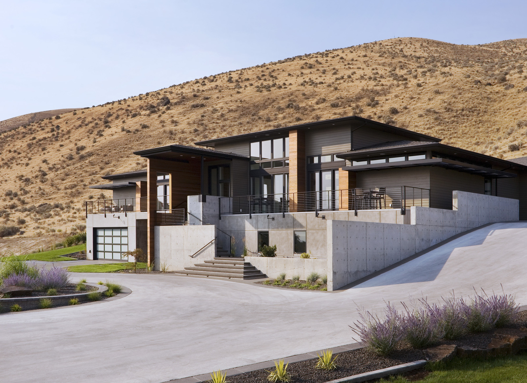 Gallery Of Badger Mountain House First Lamp Architecture