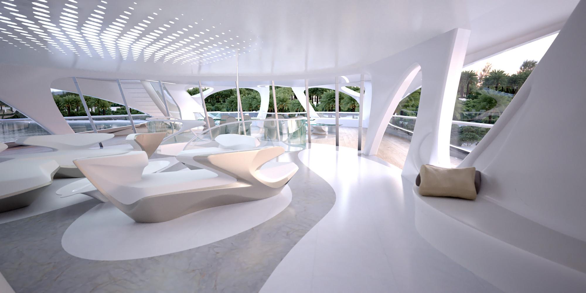 Gallery Of Zaha Hadid Designs Superyacht 10