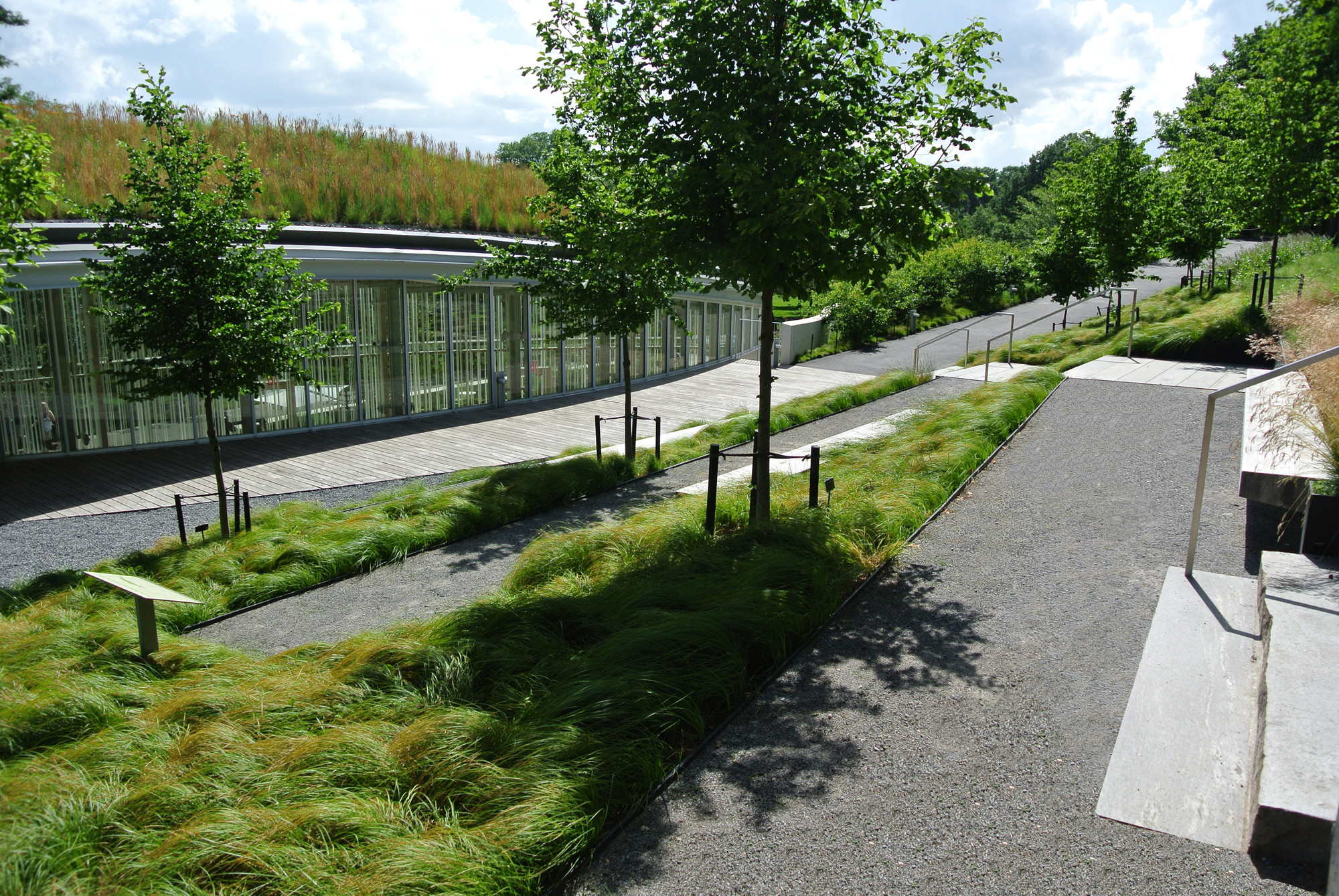 Brooklyn Botanic Garden Visitor Center Weiss Manfredi Architecture Landscape Urbanism
