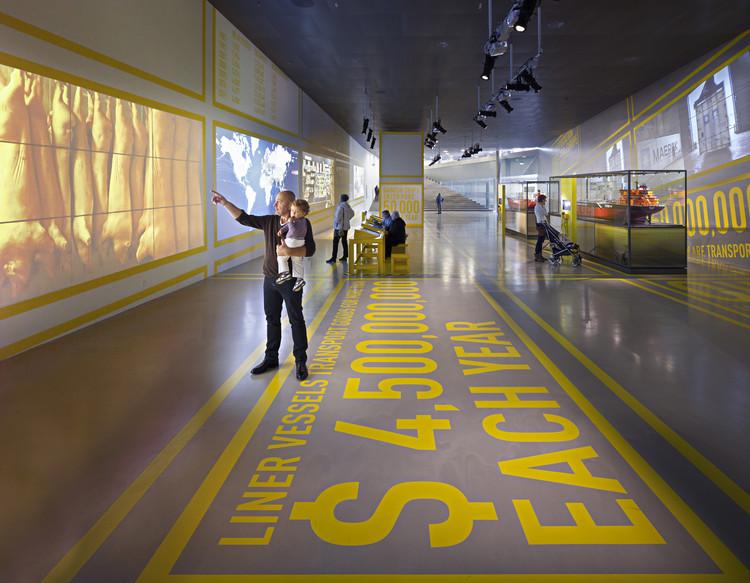 Expisición permanente Museo Marítimo Nacional de Dinamarca / Kossmann.dejong, © Thijs Wolzak