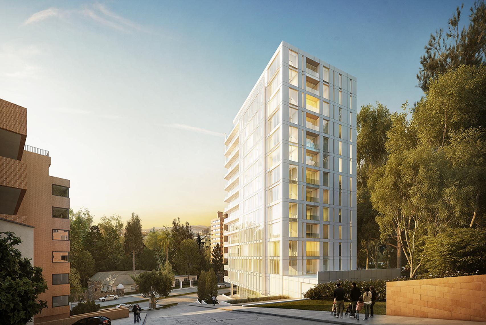 Richard Meier diseña edificio residencial en Bogotá, Colombia, Courtesy of Vitrum