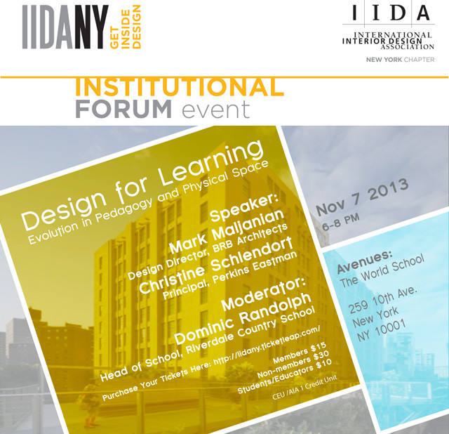 IIDA NY: Design for Learning