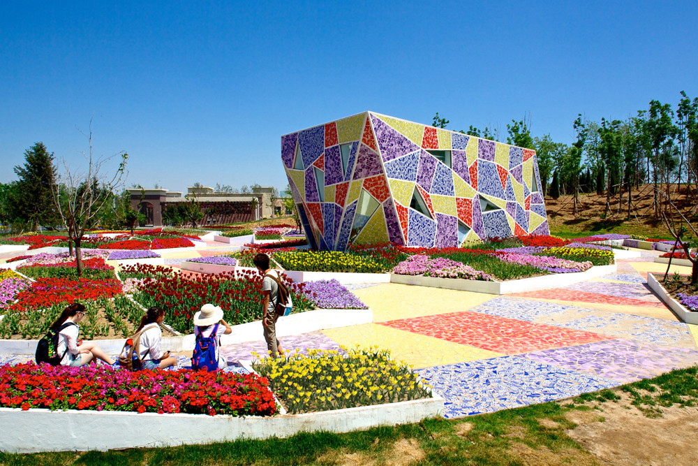Ceramic Museum And Mosaic Park / Casanova + Hernandez Architects, © Ben McMillan