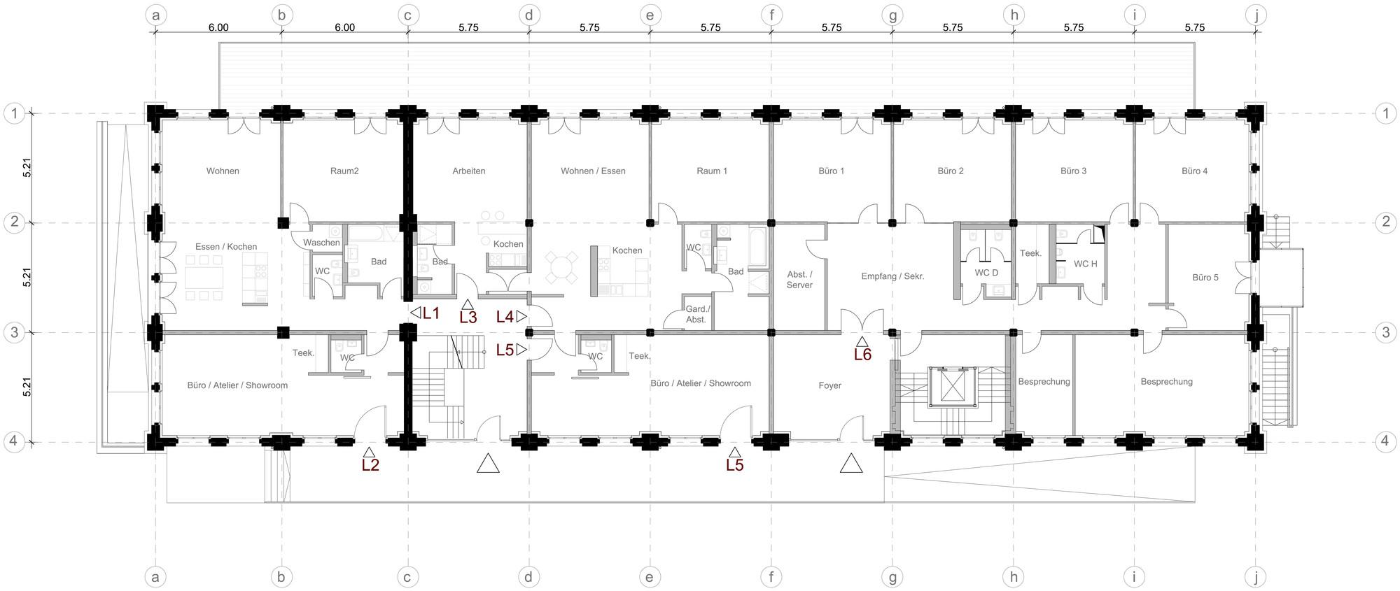 The new warehouse depot heinrich b ll architekt archdaily for Warehouse floor plan design
