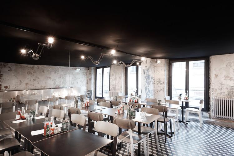 restaurante paris new york cut architectures archdaily brasil. Black Bedroom Furniture Sets. Home Design Ideas