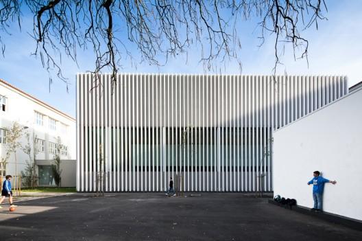 RCJV Arquitectos, Escola Sebastião da Gama. Image © Fernando Guerra FG + SG