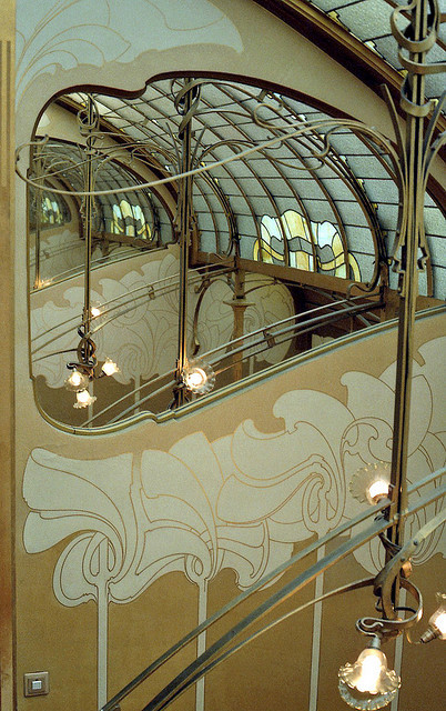 "Victor Horta's 1898 house and studio, now known as the Horta Museum, is an example of architecture whose ""form language blends and connects with Pattern Language"". Image © Flickr CC User mksfca"