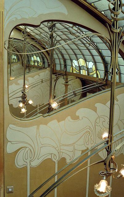 """Casa y Estudio de Victor Horta (1898), un ejemplo de arquitectura cuyas """"formas lingüísticas se conectan con el patrón de lenguaje"""". Image © Flickr CC User mksfca"""