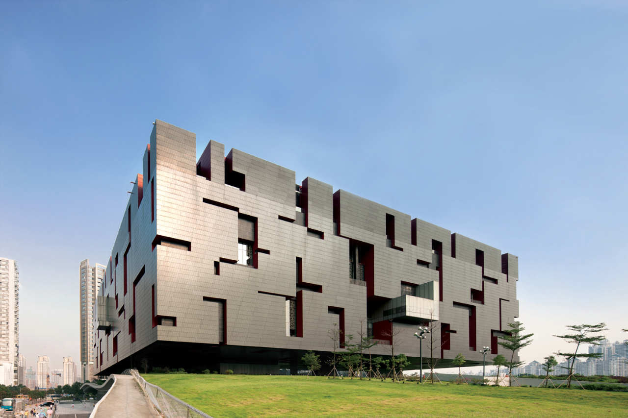 Guangdong Museum / Rocco Design Architects. Image © Marcel Lam
