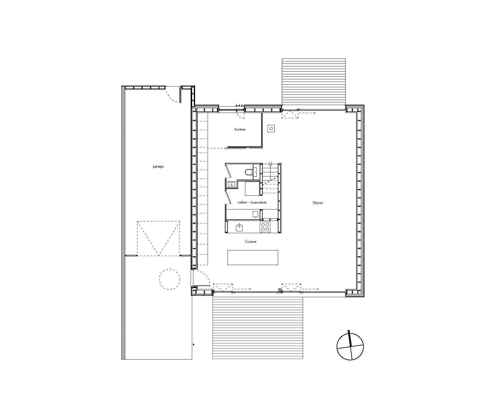Galer A De Villa B Tectoniques Architects 9