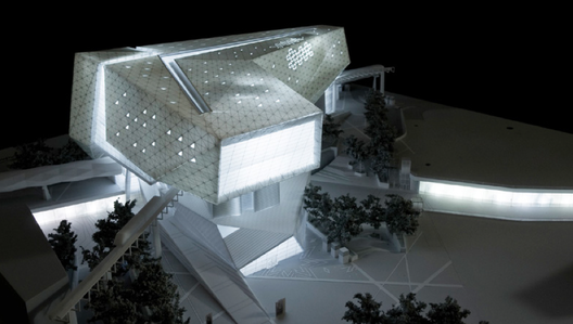 FXFOWLE Architects, Museum of the Built Environment, Riyadh, Saudi Arabia, estimated completion 2016