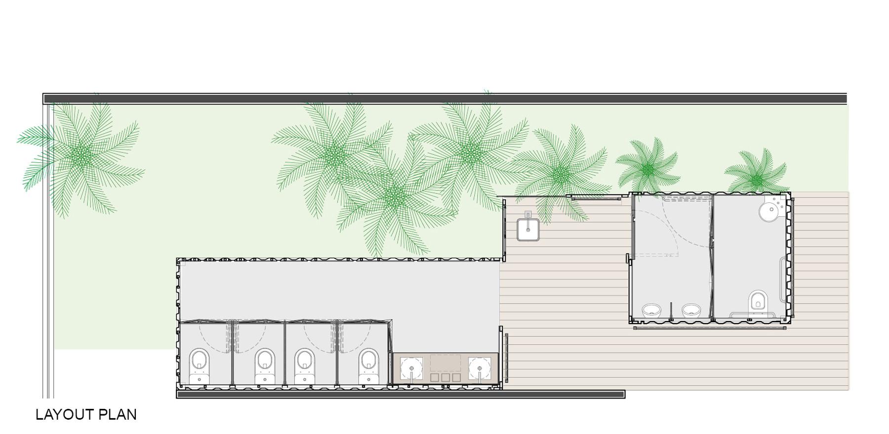 Galeria de Banheiros Ecotransportáveis / SJ2A 15 #418A45 1800 879