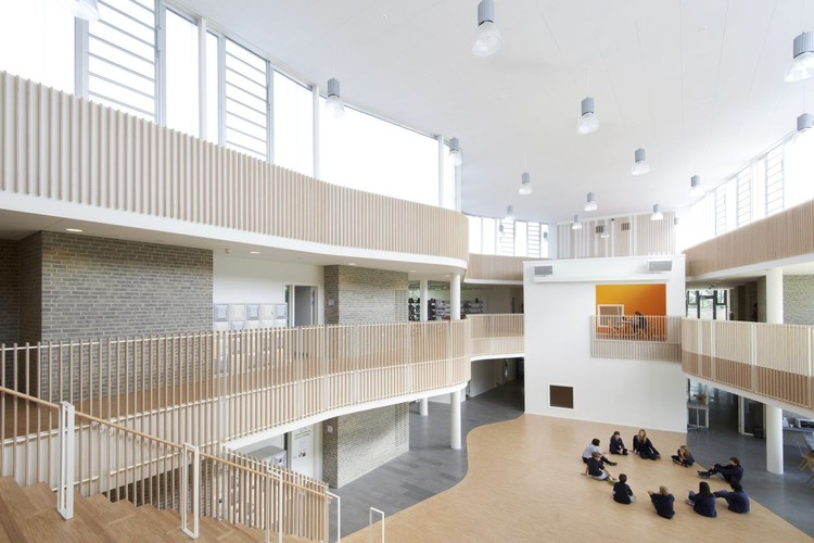 Escuela Internacional Ikast Brande / CF Moller, © Martin Schubert