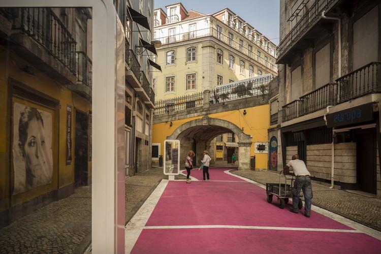 Pink Street / Jose Adrião Arquitectos, © Fernando Guerra | FG+SG