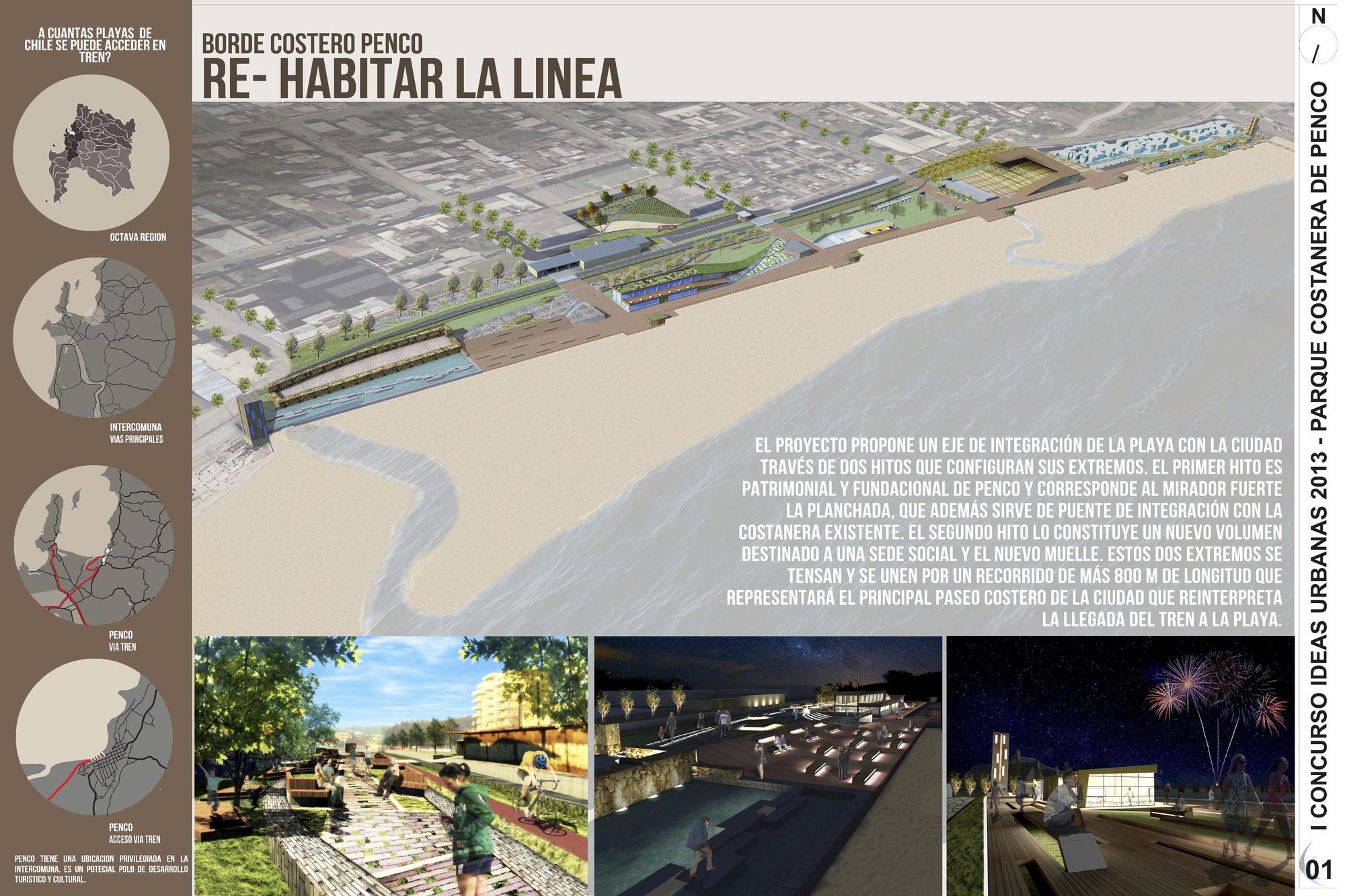 Tercer Lugar. Image Courtesy of Coordinadora Nacional de Estudiantes de Arquitectura