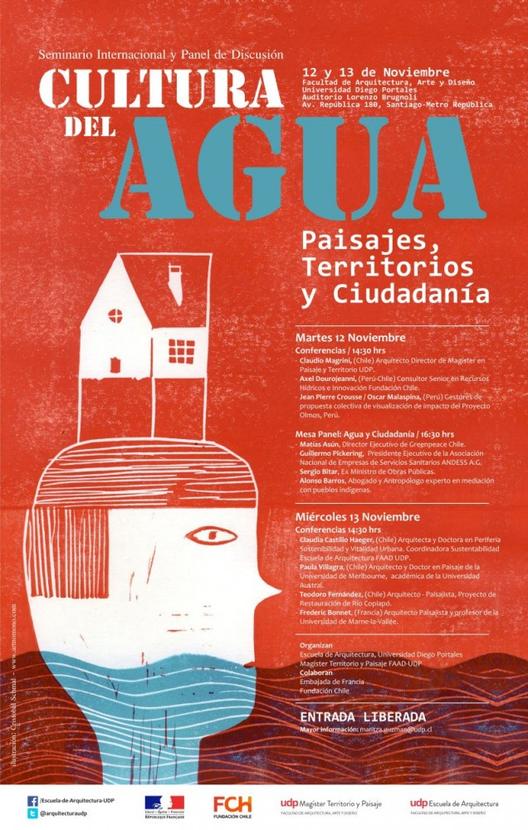 Seminario Internacional cultura del Agua: Paisajes, Territorios y Ciudadanía 12 y 13 de Noviembre