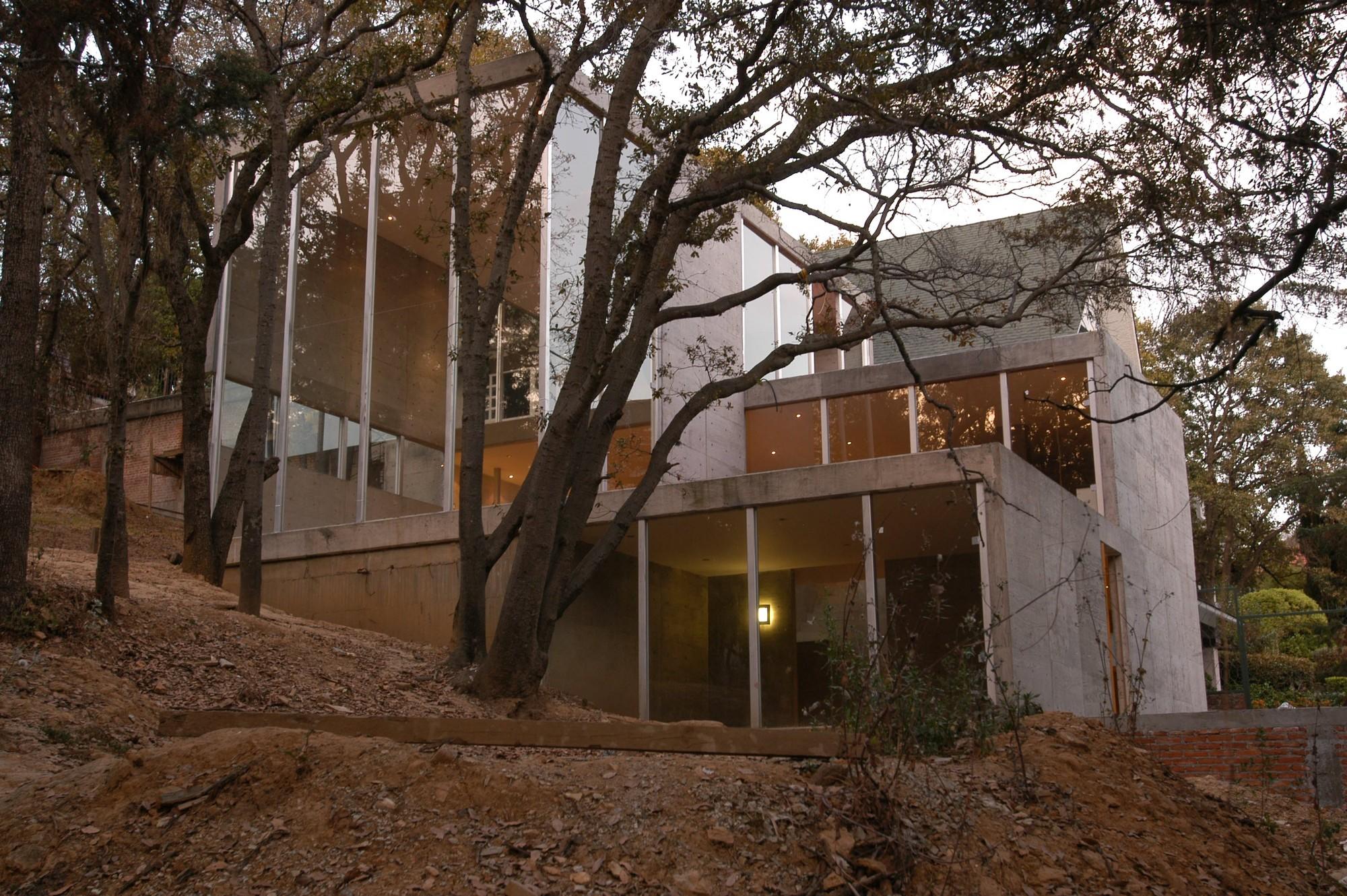Sayavedra house taller de arquitectura mauricio rocha - Arquitectura de casas ...