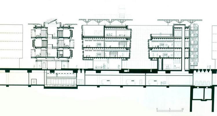 Fig. 20. Sección ciudad de Masdar. Subsuelo. Norman Foster.