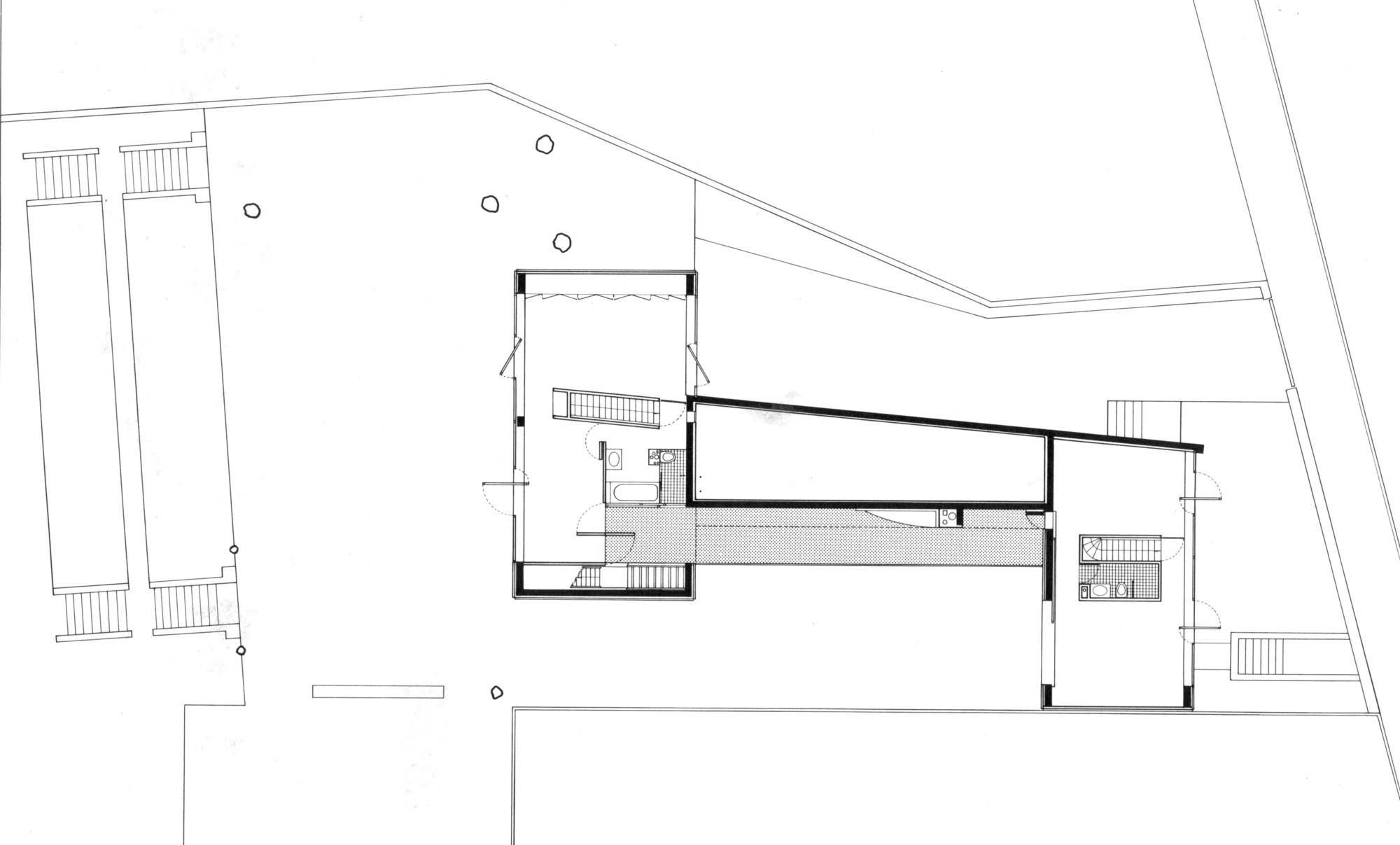 528190a8e8e44e5830000128 Ad Classics Villa Dall Ava Oma First Floor Plan C Oma on Villa Savoye Floor Plans