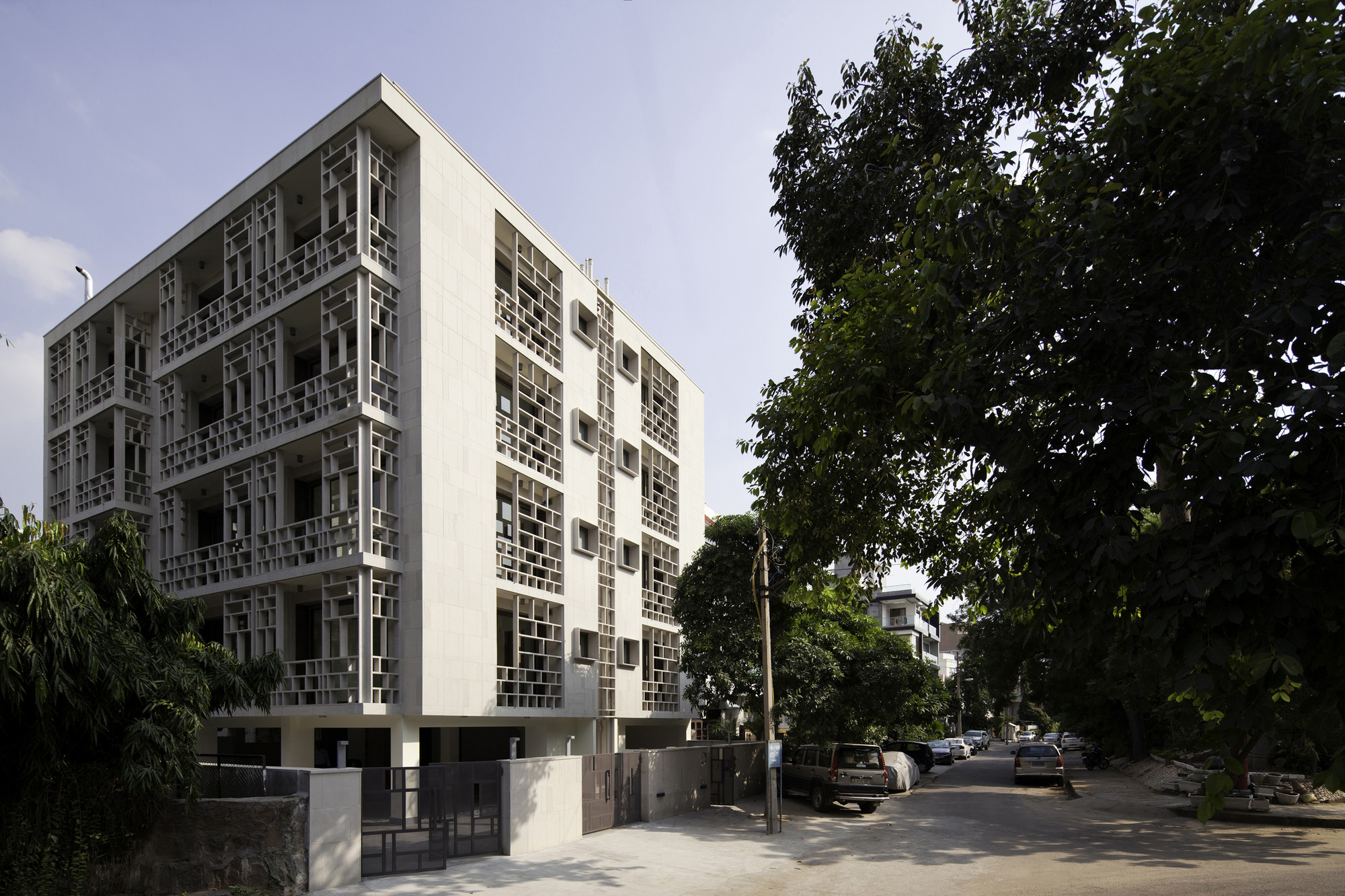 Saxena Apartments / Vir.Mueller Architects, © Andre J. Fanthome