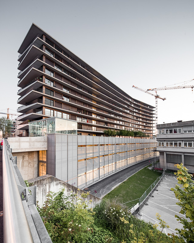 Gallery of maison des etudiants lacroix chessex 2 for Architecture des maison