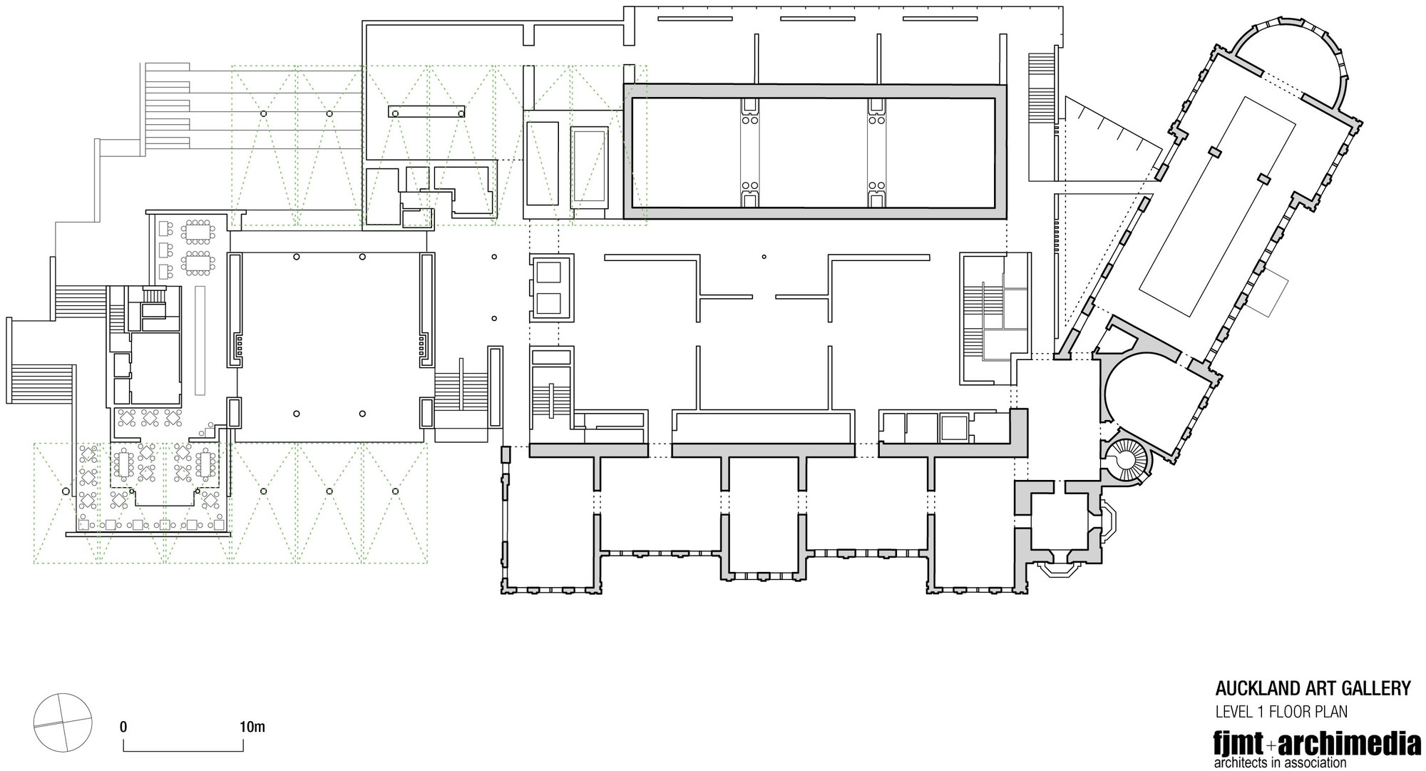 gallery architecture plan - photo #12