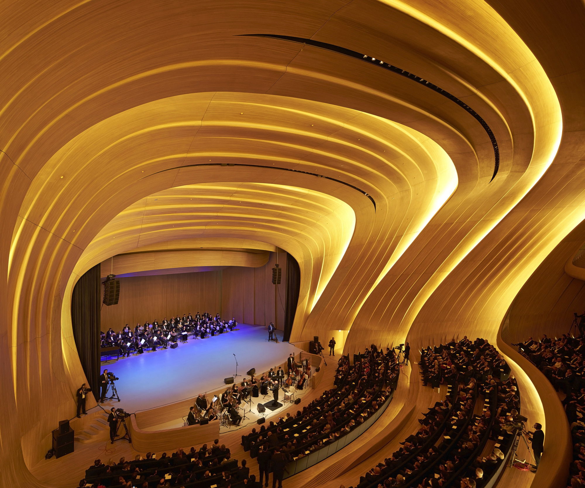 gallery of heydar aliyev center zaha hadid architects 4