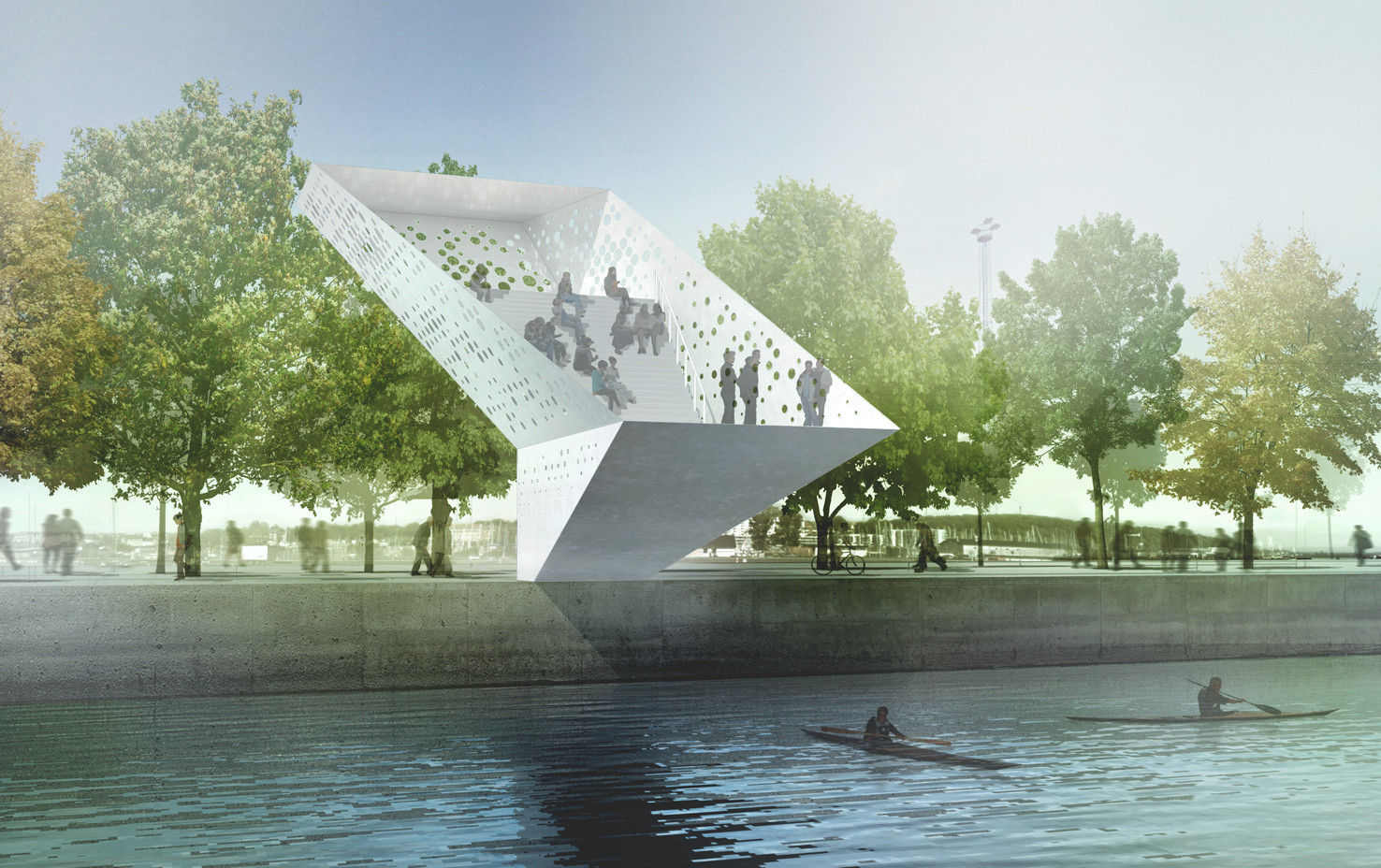 Dorte mandrup arkitekter wins competition to design for Landmark design