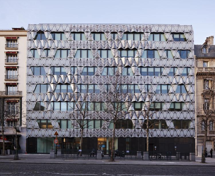 Origami / Manuelle Gautrand Architecture, © Vincent Fillon