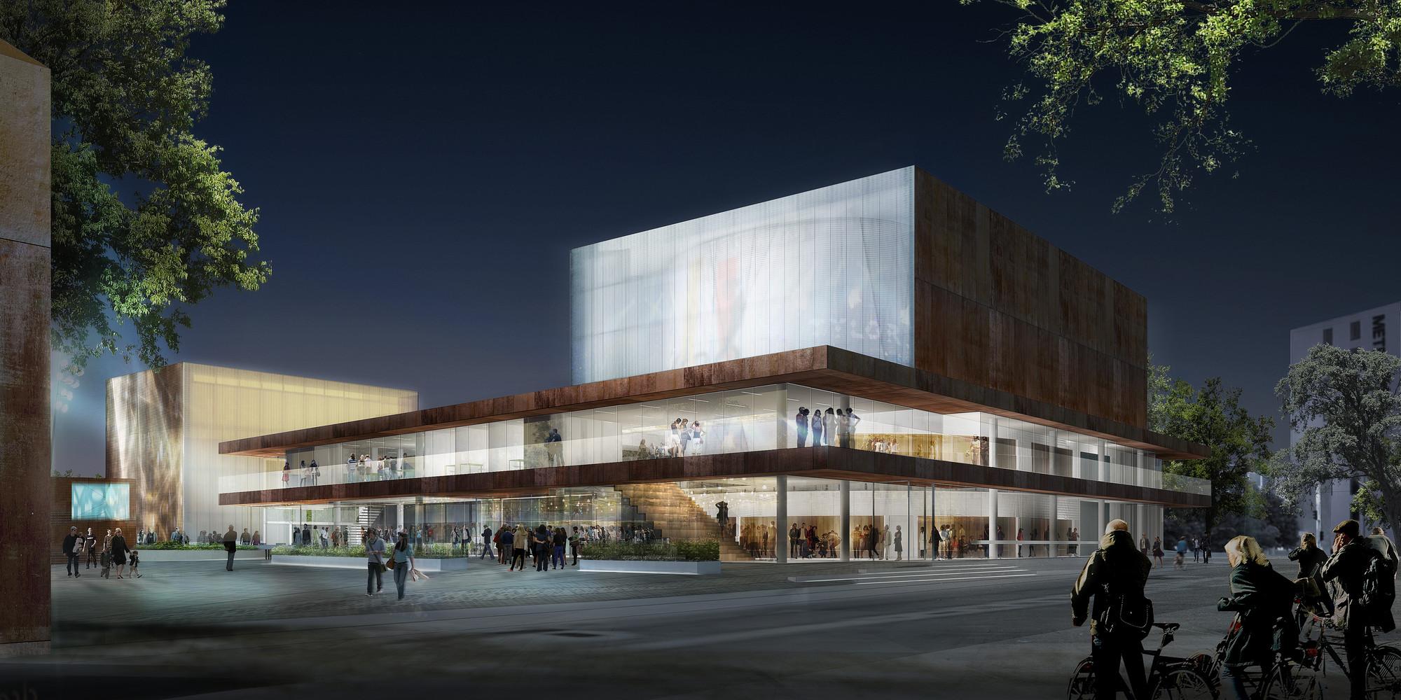 Schmidt Hammer Lassen Wins Competition to Design Danish Theater, Courtesy of Schmidt Hammer Lassen Architects