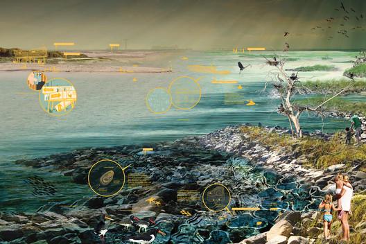 Living, Growing Breakwaters: Staten Island and Raritan Bay. Image Courtesy of HUD