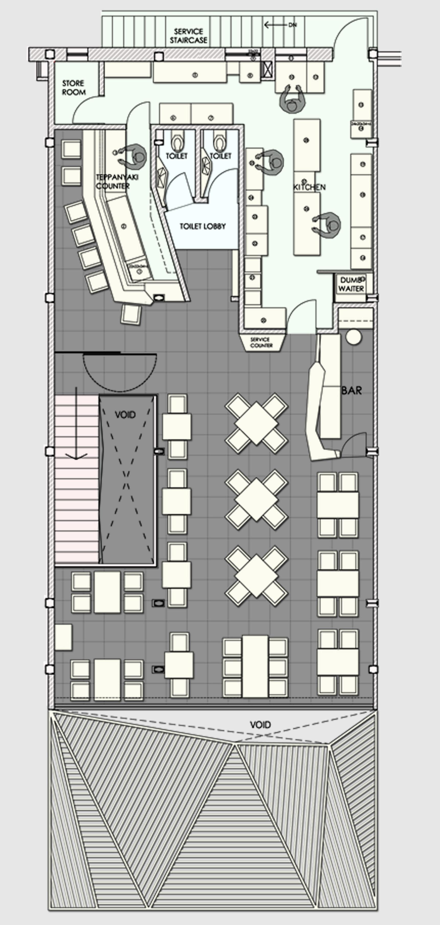 gallery of auriga restaurant sanjay puri 13 first floor plan