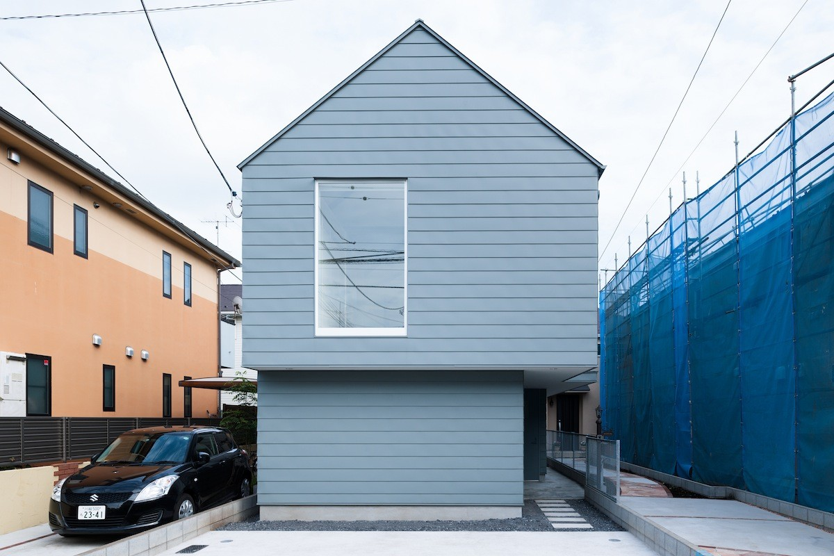 House in Tsurumaki / Case-Real, © Takumi Ota