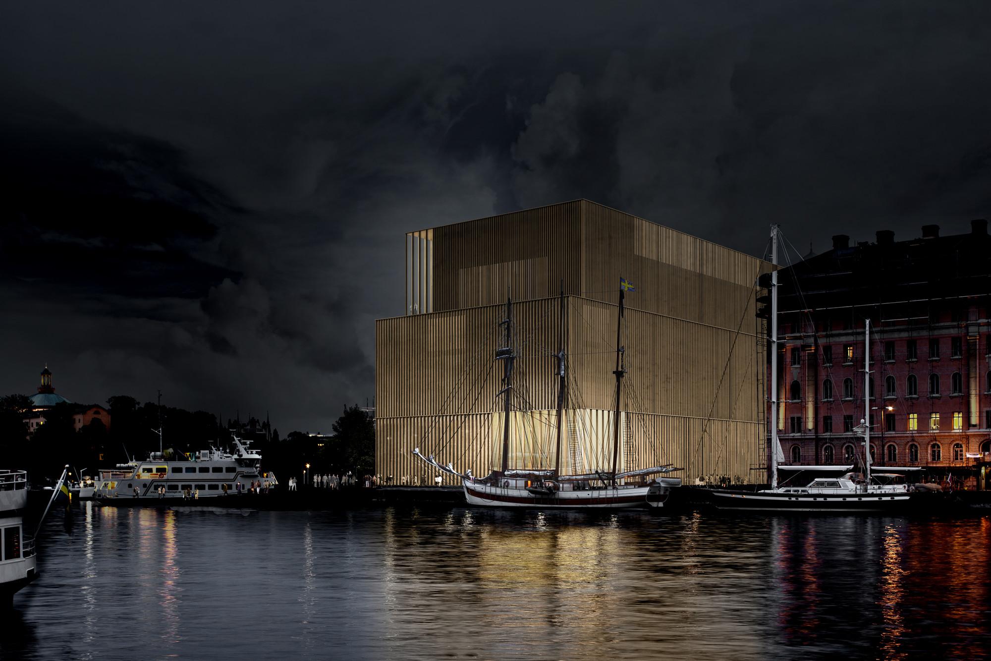 Nobelhuset / David Chipperfield Architects. Image © Nobelhuset AB