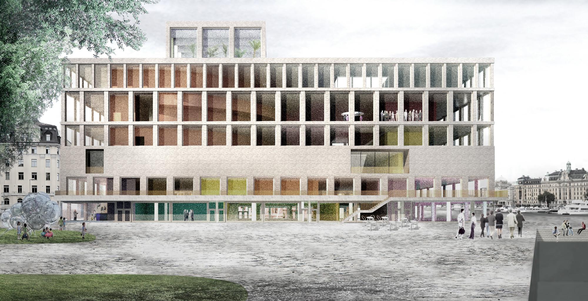 A Room and a Half / Johan Celsing Arkitektkontor AB. Image © Nobelhuset AB
