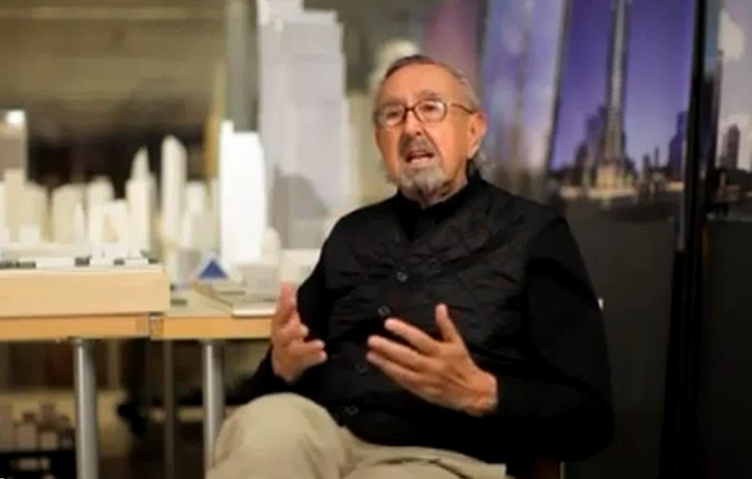 """Cine y Arquitectura: """"César Pelli, un Joven Arquitecto"""", © Miguel Rodríguez Arias"""