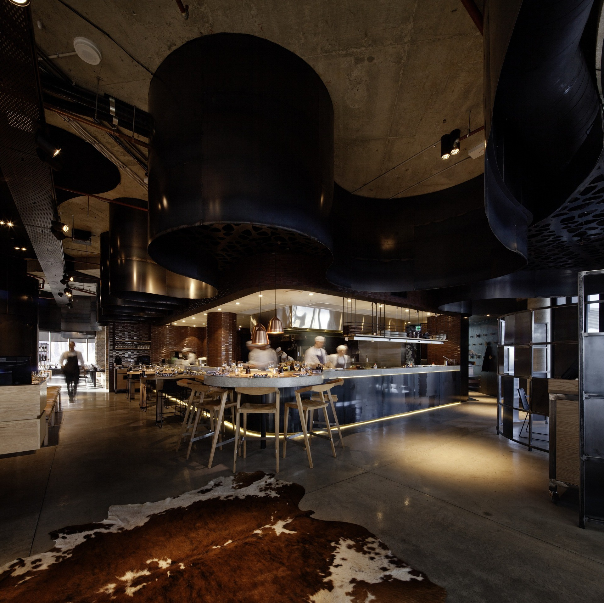 Gallery of pony restaurant woods bagot 3 for Australian cuisine brisbane